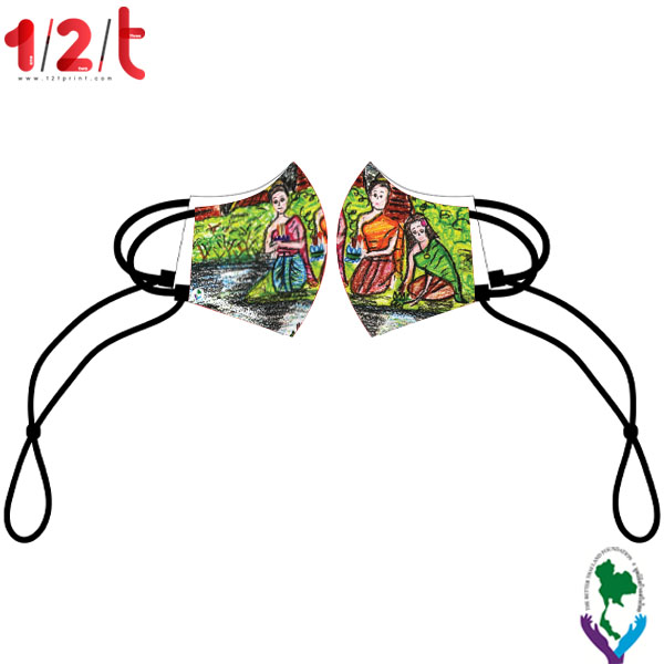 หน้ากากผ้า-สืบทอดลอยกระทง-มูลนิธิสร้างเสริมไทย
