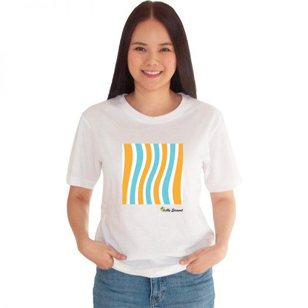 เสื้อยืดสีขาว-fancy-striped