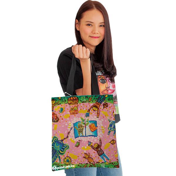 กระเป๋าผ้า-โลกแห่งการเรียนรู้-มูลนิธิสร้างเสริมไทย-12t