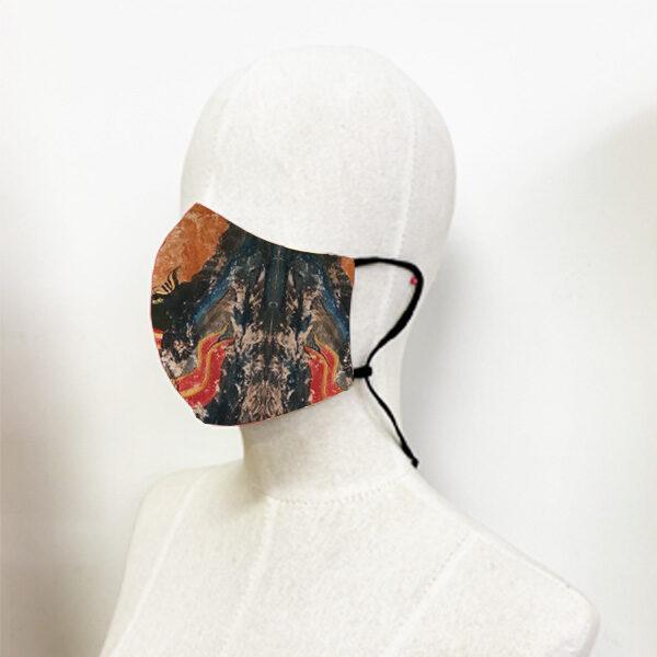 หน้ากากผ้า-ท่ามกลางเสียงพิญ-อี๊ดเมืองน่าน