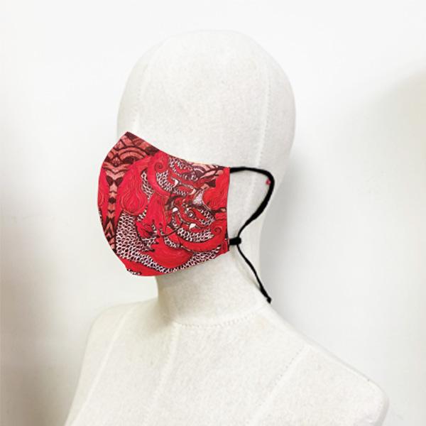 หน้ากากผ้า-มัจฉานิรันดร์-อี๊ดเมืองน่าน