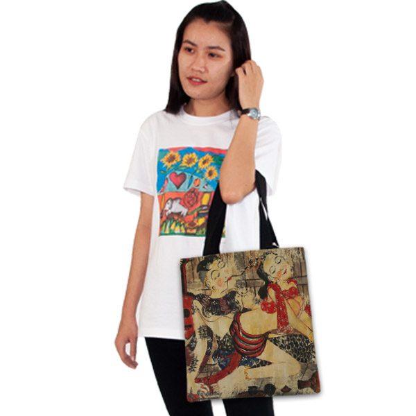 กระเป๋าผ้า-อีโรติคล้านนา 1-อี๊ดเมืองน่าน-1
