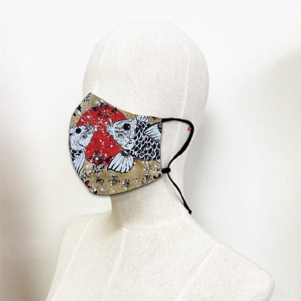 หน้ากากผ้า-มัจฉาในสายนที-อี๊ดเมืองน่าน