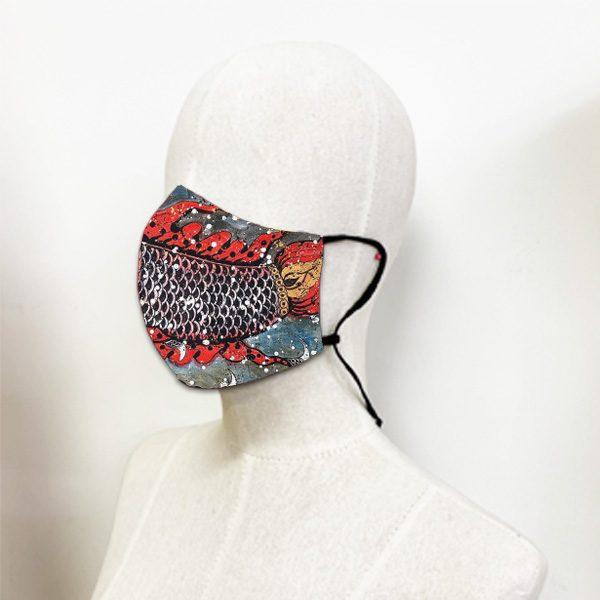 หน้ากากผ้า-มัสยาชมจันทร์-อี๊ดเมืองน่าน