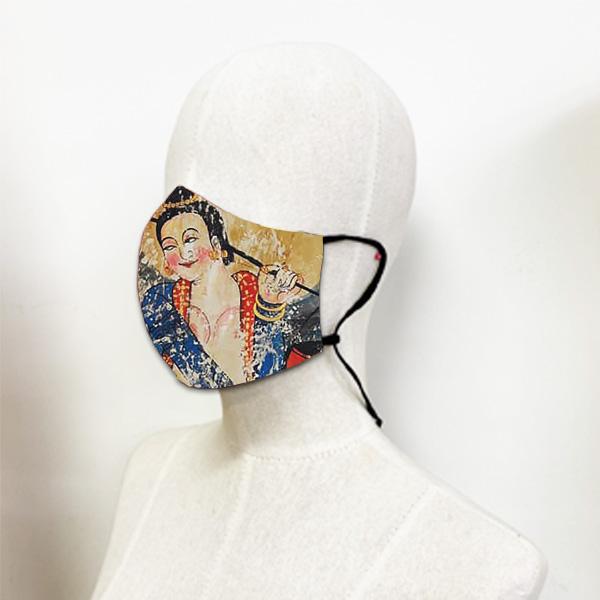 หน้ากากผ้า-สาวน้อยหาบน้ำ-อี๊ดเมืองน่าน