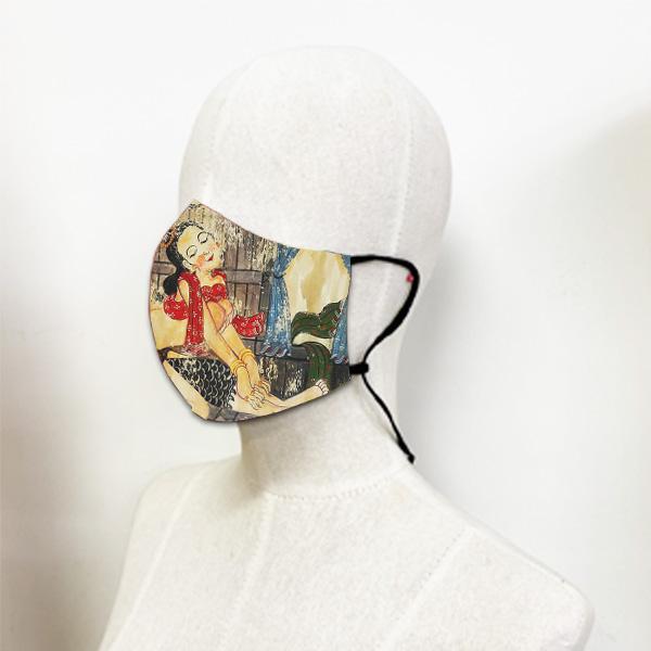 หน้ากากผ้า-อีโรติคล้านนา 1-อี๊ดเมืองน่าน